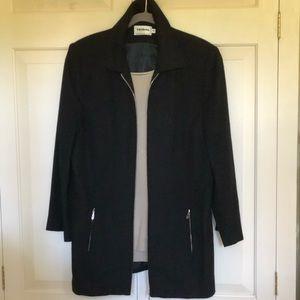 Tribal Coat/Jacket w Zip Front & Zip Pockets